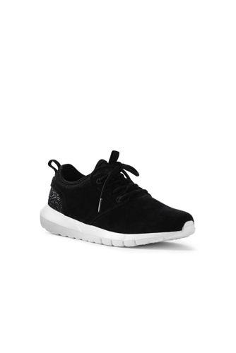 Active Veloursleder-Sneaker mit Neoprenkragen für Damen