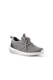 Women's Lightweight Suede Trainers