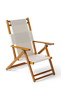 Wooden Lounge Chair, Front