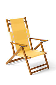 Wooden Lounge Chair