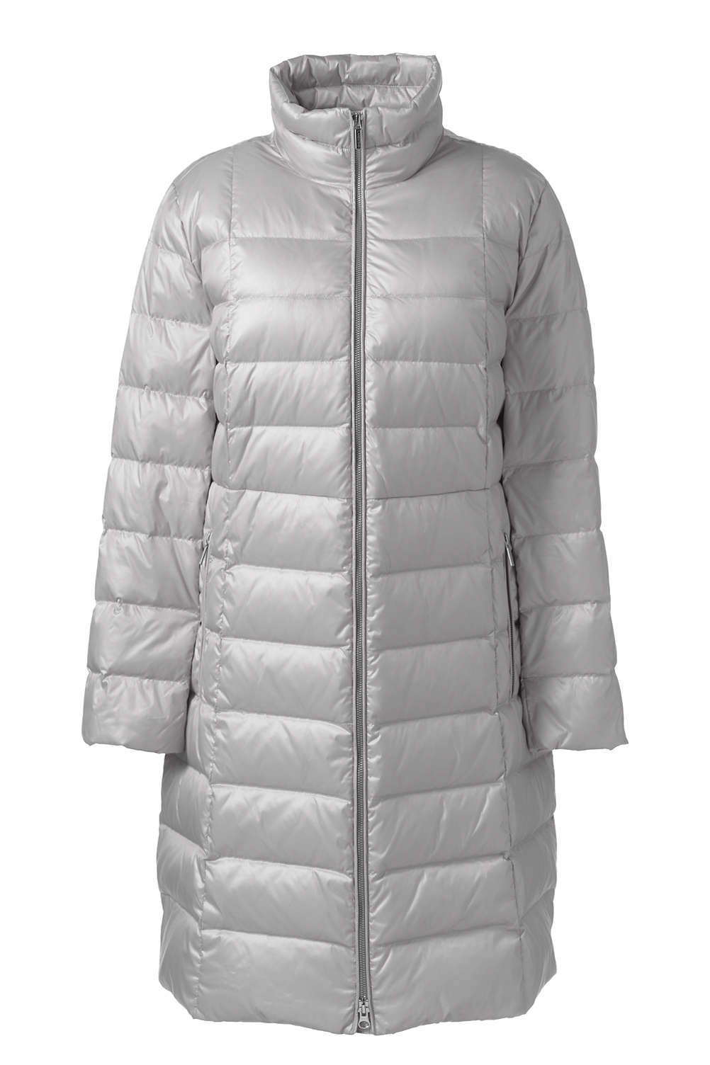 443ff9eee9 Women s Plus Size Lightweight Down Coat from Lands  End
