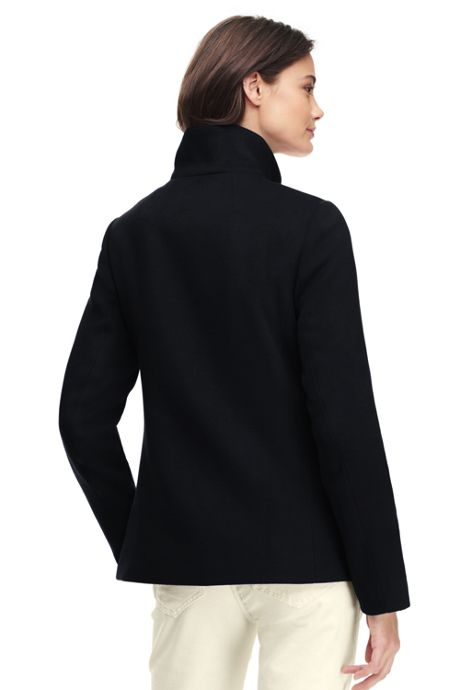 Women's Tall Stand Collar Jacket