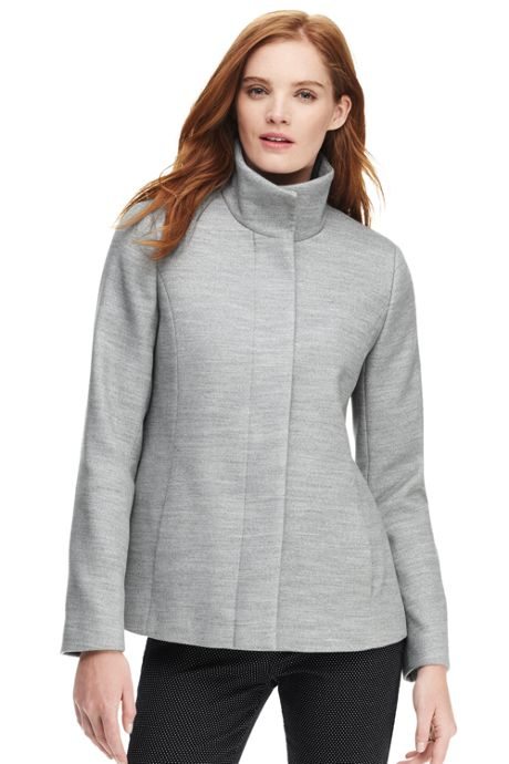 Women's Tall Lightweight Collar Fleece Jacket