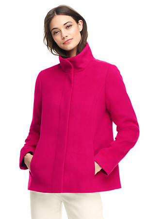 Women's Stand Collar Jacket | Lands' End