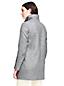Le Manteau Stretch à Col Haut, Femme Stature Standard