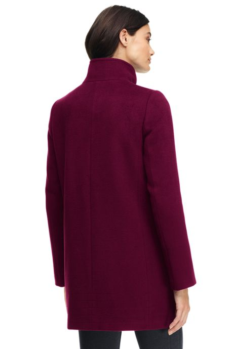 Women's Tall Lightweight Stand Collar Coat