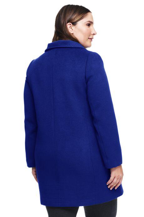Women's Plus Size Lightweight Stand Collar Coat