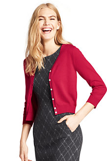 Women's Supima Fine Gauge Dress Cardigan