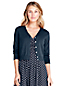 Le Cardigan Court Supima Manches 3/4, Femme Stature Standard