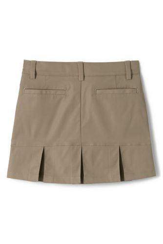 School Uniform Women's Active Chino Skort