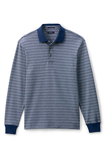 Men's Feeder Stripe Supima Polo