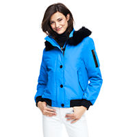 LandsEnd.com deals on Lands End Womens Squall Hooded Bomber