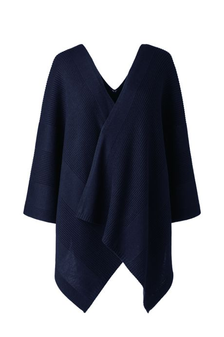School Uniform Women's Knit Shawl Wrap