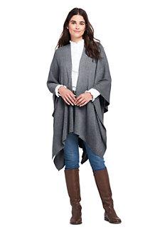 Women's Knit Shawl Wrap