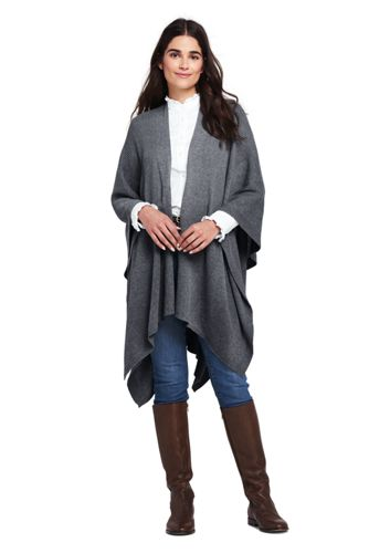 Women's Knit Shawl Wrap