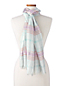 Women's Shimmer Plaid Scarf