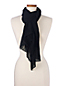 Women's Pleated Scarf