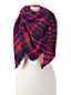 Women's Herringbone Plaid Scarf