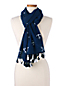 Women's Anchor Print Scarf