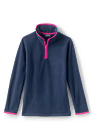Little Girls Quarter Zip Fleece Pullover