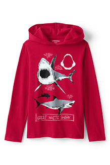 Boys' Hooded Graphic Tee