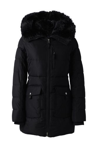 Women's PrimaLoft Parka-style Coat