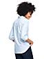 La Chemise Oxford Stretch à Motifs et Manches Longues, Femme Stature Standard
