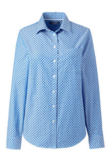 Women's Classic Oxford Shirt, Pattern