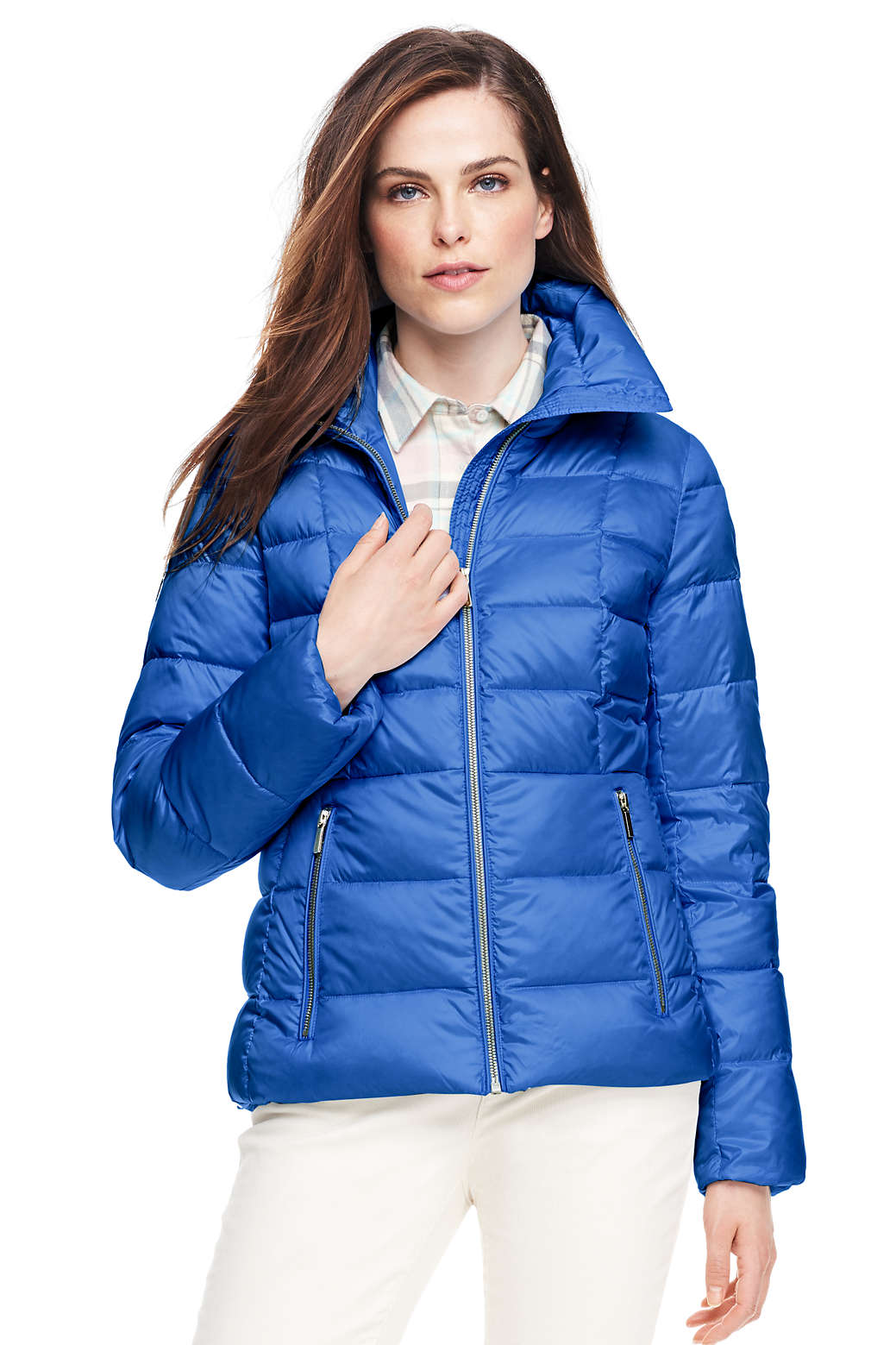 46fa02a486f Women s Lightweight Down Jacket from Lands  End