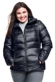 Women's Plus Size Lightweight Down Jacket