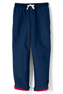 Boys' Iron Knee Jersey-lined Pull-on Trousers