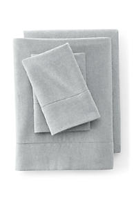 6oz Supima Flannel Heather Sheet Set