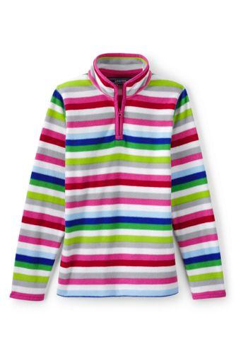 Toddler Girls' Thermacheck-100 Printed Fleece Half-zip Pullover