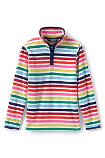 Girls' Thermacheck-100 Printed Fleece Half-zip Pullover
