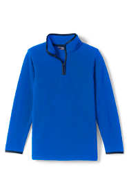 Boys Fleece Quarter Zip Pullover Sweater
