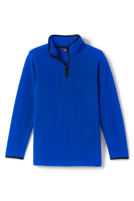 Boys Half Zip Fleece Pullover