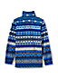 Gemusterter Fleece-Pullover für Baby Jungen