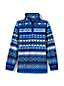 Toddler Boys' Printed Half-zip Fleece Top