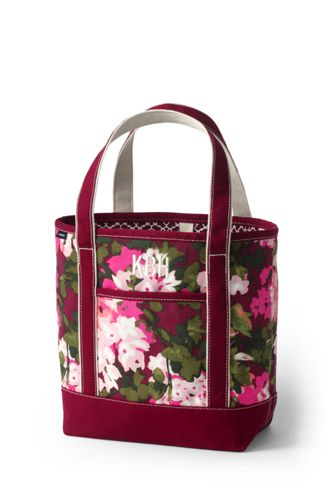 Medium Print Open Top Tote Bag