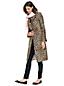 Mantel mit Leoparden-Jacquard für Damen