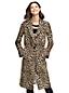Women's Leopard Jacquard Coat