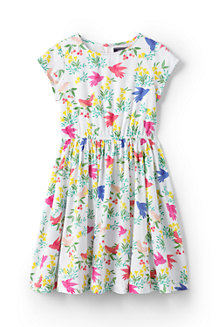 Girls' Woven Twirl Dress