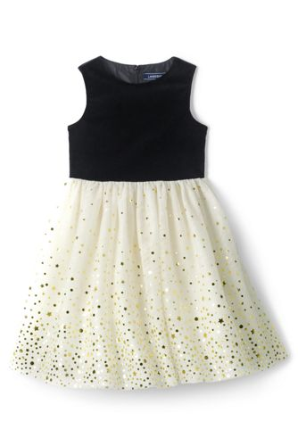 Little Girls' Tulle Party Dress