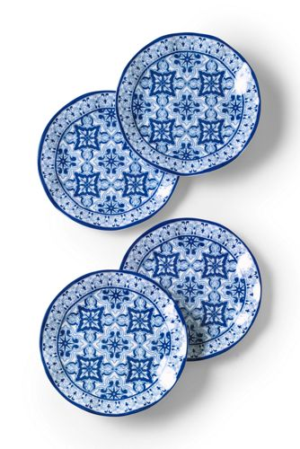 Nautical Melamine Dinner Plates (Set of 4)  sc 1 st  Landsu0027 End & Nautical Melamine Dinner Plates (Set of 4) from Landsu0027 End