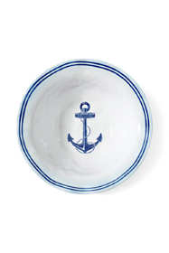 Nautical Melamine Serving Bowl