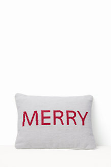Needlepoint Word Pillow