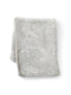 Silver Fox Faux Fur Throw