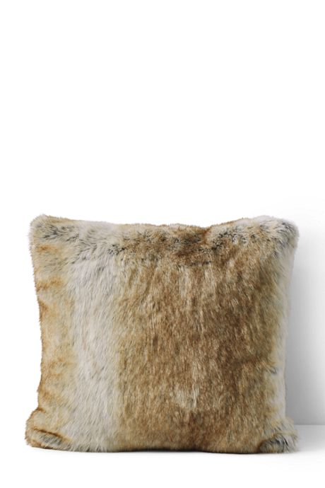 Faux Fur Decorative Pillow