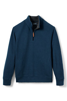 Men's Sherpa Collar Brushed Rib Pullover