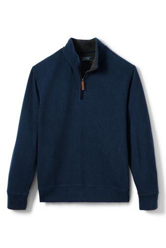 Men's Sherpa Collar Brushed Rib Pullover